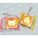 San-X Rilakkuma 拉拉熊 懶懶熊 吐司弔飾 療癒系 吐司 麵包 弔飾 擺飾 掛飾 背包弔飾 手機弔飾 吐司造型 娃娃 軟軟
