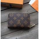 Louis Vuitton LV老花格零錢包 風琴卡包 信用卡包 短款 男女通用 經典 花紋 短夾