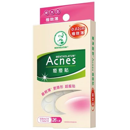 Acnes Anti-bacterial stickers - Ultra-thin (36 pcs)