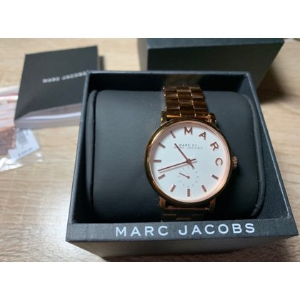 7cd9d1e98276 MARC by Marc JACOBS女錶36mm 金刻度鋼帶MJMB M-3244