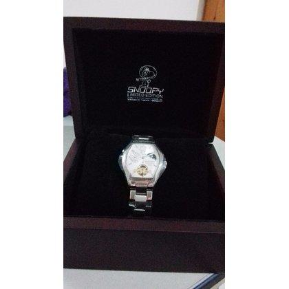 SNOOPY星際太空機械腕錶(附收納盒、保證卡)