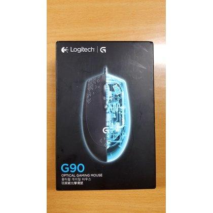 logitech 羅技 光學滑鼠 G90 有線 全新未用