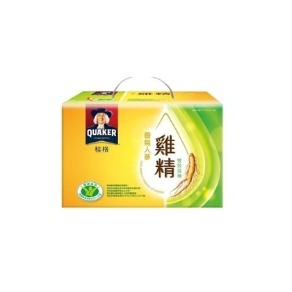 桂格養氣人蔘雞精禮盒68ml*18入 一瓶31元,72瓶免運費
