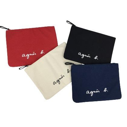 『現+預』Agnes b. 帆布包系列 手提包 斜背包 化妝包 便當袋 購物袋 休閒 旅行 日系 百搭